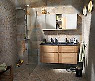 Ensemble de salle de bains Essential 120 cm noir