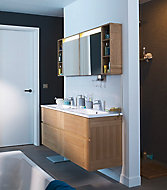 Ensemble de salle de bains Essential 160 cm blanc