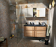 Ensemble de salle de bains Essential 160 cm noir