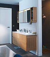 Ensemble de salle de bains Essential 180 cm blanc