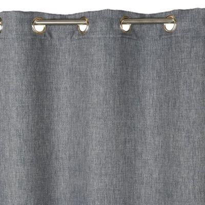 rideau occultant colours barcelona gris 140 x 240 cm castorama. Black Bedroom Furniture Sets. Home Design Ideas