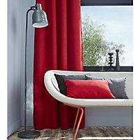 Rideau occultant Colours Barcelona rouge 140 x 240 cm
