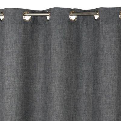 Rideau COLOURS Valencia gris 140 x 240 cm