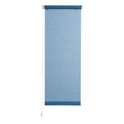Store enrouleur bleu FORM Perkin 77,5 cm