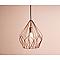 Suspension Colours Barba cuivre l.31 x H.110 cm