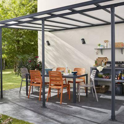 affordable jardin et terrasse with chauffage de terrasse castorama. Black Bedroom Furniture Sets. Home Design Ideas