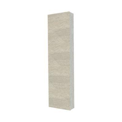 Colonne de salle de bains contre porte décor chêne clair COOKE & LEWIS Calao 45 cm