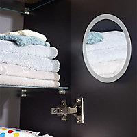 Colonne de salle de bains taupe laqué Cooke & Lewis Pamili 30 cm