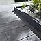Dalle grenaillée anthracite 60 x 30 cm, ép.4 cm