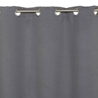 Rideau COLOURS Vestris gris 140 x 240 cm