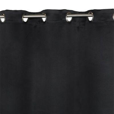 Rideau COLOURS Vestris noir 140 x 240 cm
