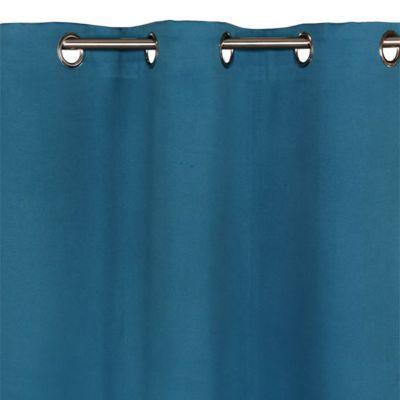 Rideau Colours Vestris Vert Paon 140 X 240 Cm Castorama