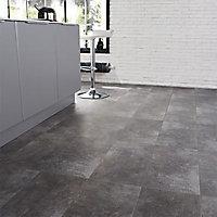 Carrelage sol gris 30 x 60 cm Tribeca (vendu au carton)