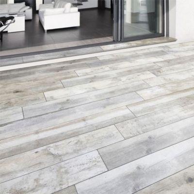 carrelage terrasse gris 20 x 120 cm rewood vendu au. Black Bedroom Furniture Sets. Home Design Ideas