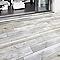 Carrelage sol extérieur gris 20 x 120 cm Rewood (vendu au carton)