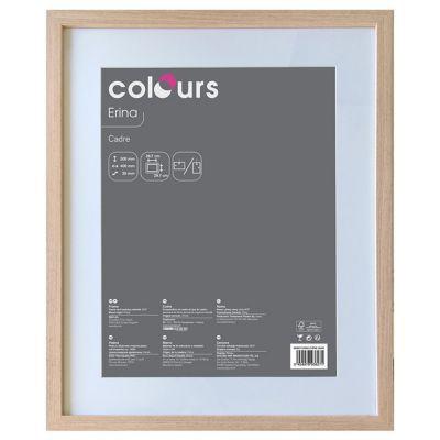 cadre photo ch ne colours erina 40 x 50 cm castorama. Black Bedroom Furniture Sets. Home Design Ideas