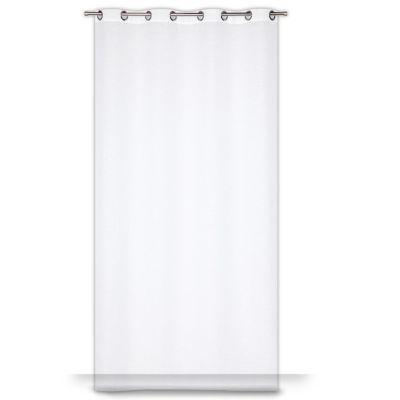 Voilage colours tenby blanc 140 x 240 cm