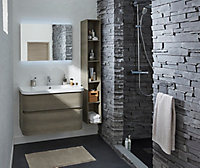 Ensemble de salle de bains Voluto bois 88 cm