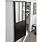 Porte coulissante vitrée Atelier 83 cm