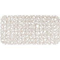 Tapis de bain antidérapant transparent 35 x 72 cm Akalat