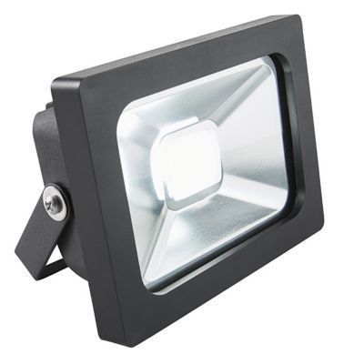 Projecteur extérieur BLOOMA Manta noir LED 10W