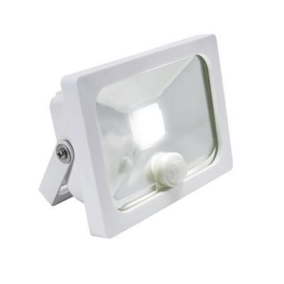 Projecteur LED à détection Blooma Manta blanc 10W