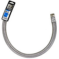 Flexible 80 cm mâle/femelle 20x27 mm Gros débit Diall