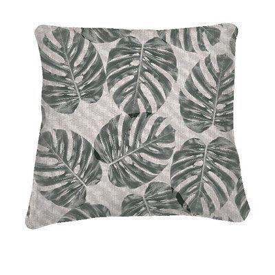 Coussin colours alessia gris 45 x 45 cm