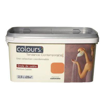 Peinture Décorative Colours Onde De Sable 2,5L | Castorama