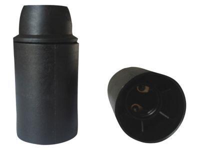 Douille E14 Diall noir
