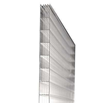 Plaque Polycarbonate Eco Transparent 300 X 105 Cm Ep 16 Mm Vendue A La Plaque Castorama