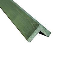 Cornière d'angle vert - 45 x 45 mm L.3 m