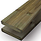 Lame de terrasse pin strié L.240 x l.12 cm
