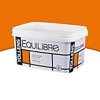 Peinture murs et boiseries Tollens Equilibre mandarine satin 2,5L