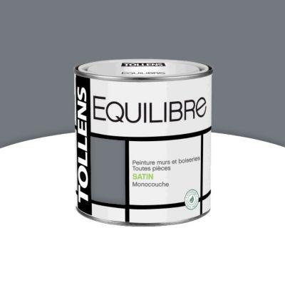 Peinture murs et boiseries tollens equilibre cendre satin 0 5l castorama - Peinture tollens castorama ...