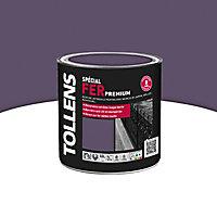 Peinture fer Tollens Premium mûre sauvage brillant 0,5L