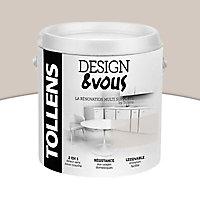 Peinture rénovation multi-supports Pétale de gris Satin 2L