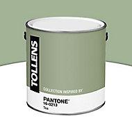 Peinture murs et boiseries Tollens Pantone 16-0213 tea satin 2L