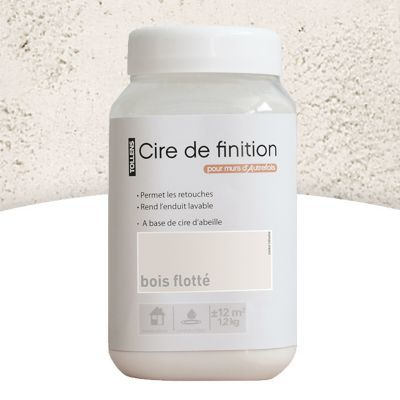 Cire De Finition Acrylique Tollens Bois Flotté 1 2kg Castorama