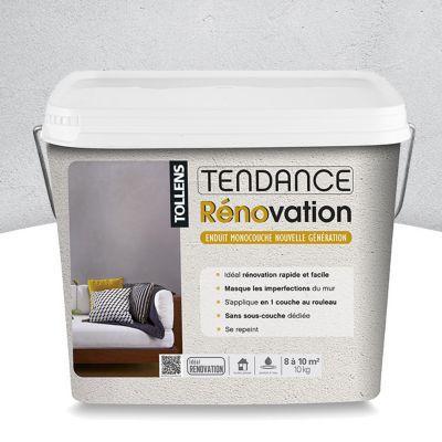 Enduit Tendance De Rénovation Galet 10kg Castorama