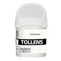 Testeur peinture murs et boiseries Tollens blanc naturel satin 50ml