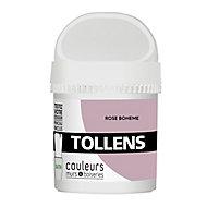 Testeur peinture murs et boiseries Tollens rose bohème satin 50ml