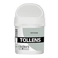 Testeur peinture murs et boiseries Tollens vert poudré satin 50ml