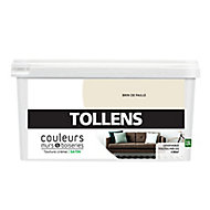 Peinture murs et boiseries Tollens brin de paille satin 2,5L