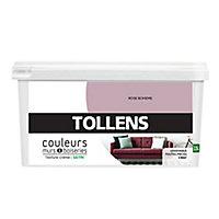 Peinture murs et boiseries Tollens rose bohème satin 2,5L