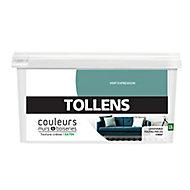 Peinture murs et boiseries Tollens vert expression satin 2,5L