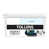 Peinture murs et boiseries Tollens bleu poudré satin 2,5L