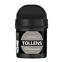 Testeur peinture Tollens premium murs, boiseries et radiateurs marron glacé mat 50ml