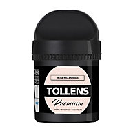 Testeur peinture Tollens premium murs, boiseries et radiateurs rose millennials mat 50ml