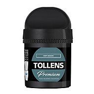 Testeur peinture Tollens premium murs, boiseries et radiateurs vert design mat 50ml